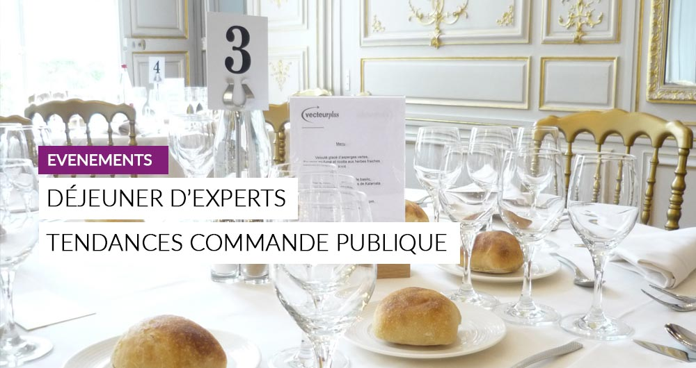Déjeuner D'experts | Tendances De La Commande Publique 2016