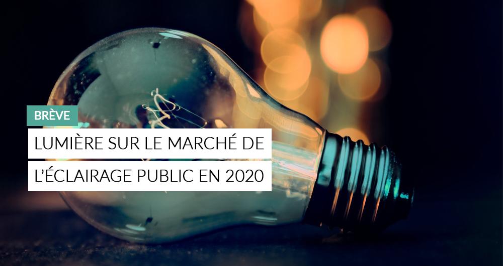 Illustration De La Brève : Lumière Sur Le Marché De L'éclairage Public En 2020