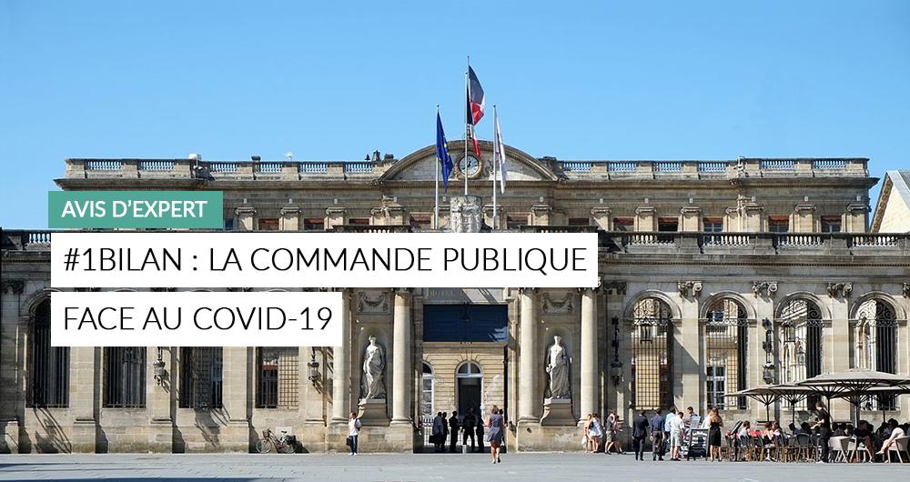 #1Bilan La Commande Publique Face Au Covid-19