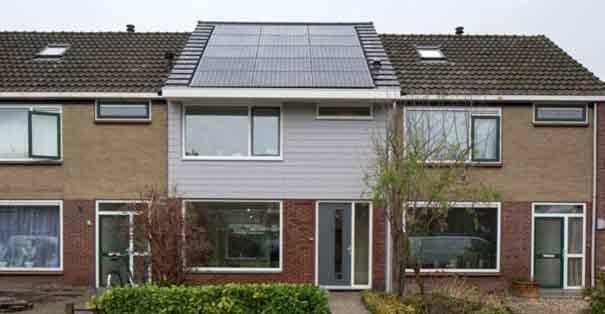 Exemple de maison rénovée avec la méthode energiesprong