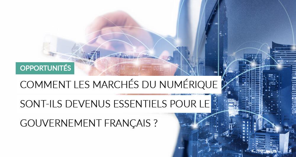 Illustration De L'article IT : Comment Les Marchés Du Numérique Sont Devenus Essentiels Pour Le Gouvernement Français